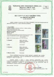 Certifikát - SK